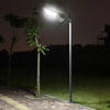 Newest design zhongshan factory price wholesale 8W 10W 20W integrated all in one solar sensor street light