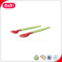 Popular Colorful Plastic Measuring Ice-cream Baby Spoon