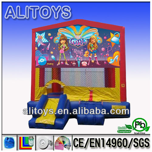 inflatable toys jumping bounce house 0.55mm PVC
