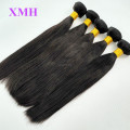 Wholesale Virgin Straight Hair 100% Human Hair Extension, Brazilian Hair Bundles with closure