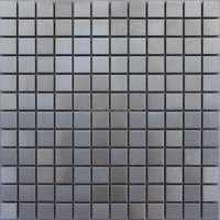 silver metal mosaic stainless steel tile promotional in stock 2015
