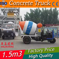 1.5CBM Cheap concrete mixer truck