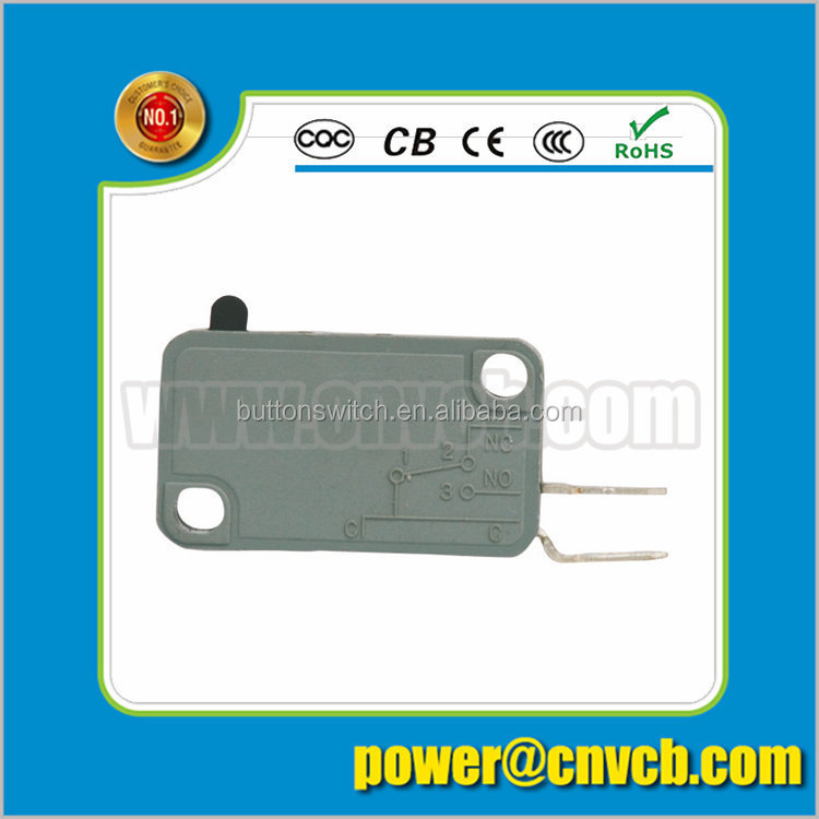 M10 ZW7-0F 2 pin High quality solder connect terminal micro switch for electronic products push ON micro switch
