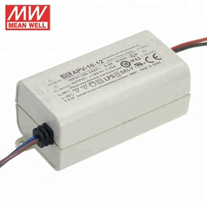 Meanwell LED Driver APV-16-12 Constant Voltage16W DC12V Power Supply With IP30