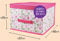 Factory price hot selling fabric lined storage boxes