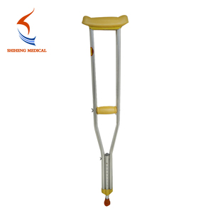China Supplier Folded Economic Walking Adjustable Disable Crutches