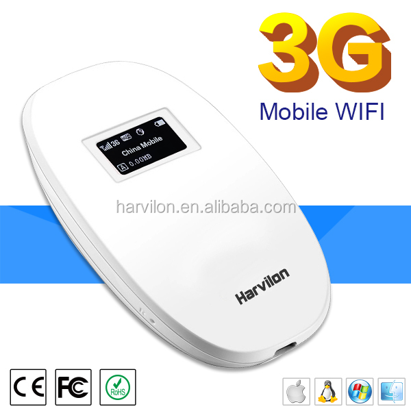 Unlocked 3G 2G Mobile Wireless Fast Speed Router with SIM Slot