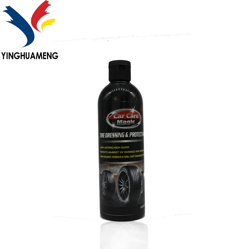 long lasting , high glossy tire dressing & <strong>protectant</strong> keeps your tire shine and <strong>protects</strong> against UV damage and browning