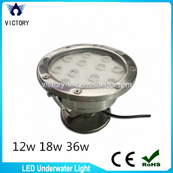 Hottest swimming pool lighting fixture IP68 led underwater light 36w