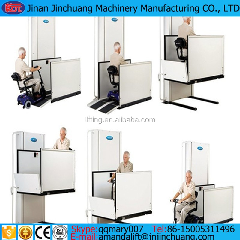 home hydraulic disabled elevator electric wheelchair lift