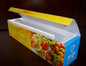 PE Plastic Cling Wrap Food Packaging Roll Film Manufacturer