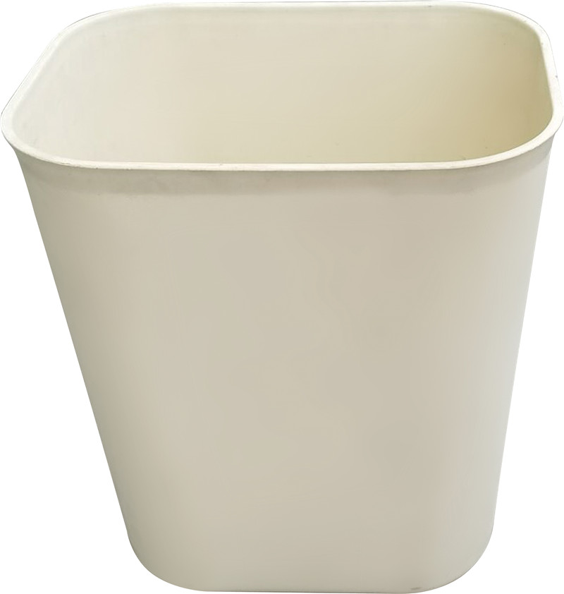 Hospital hotel garbage plastic trash oval friendly plastic trash can trash bin