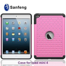 cheap waterproof silicon phone case for ipad mini 4