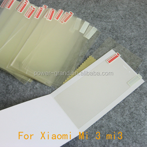 PET super clear Screen protector film for Xiaomi Mi 3 M3