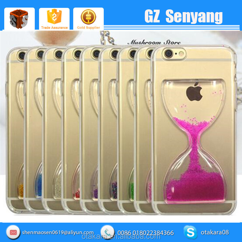 Best Selling Excellent Quality Sandglass Hourglass Phone Case For Iphone 6
