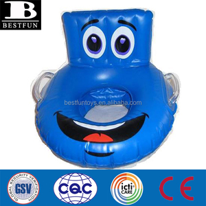 Heavy-duty plastic inflatable potty durable inflatable travel baby potty seat folding portable inflatable bubble potty