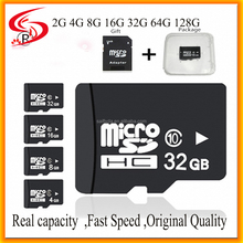 Real Capacity Class 10 Fast Speed Flash SD TF Memory Card, Original Quality 4GB 8GB 16GB 32GB Mirco Memory Card