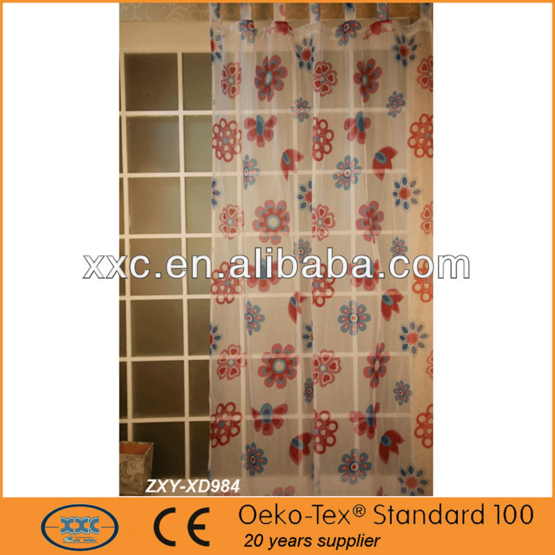 Latest new design elegant living room curtain