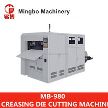 MB-980 Series Automatic Die Cutting & Creasing Machine with cheap prices supplier