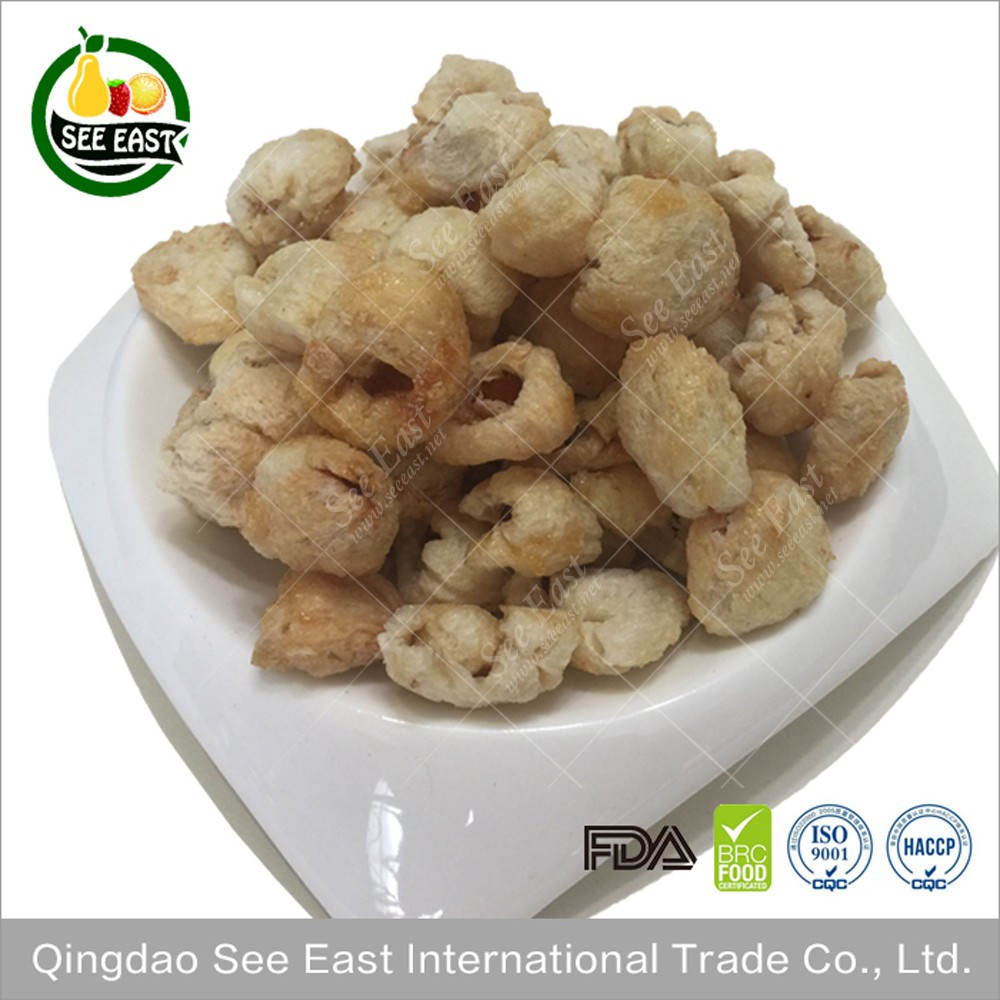 New products 2016 Hot fruits snack freeze dried Litchi with free sample