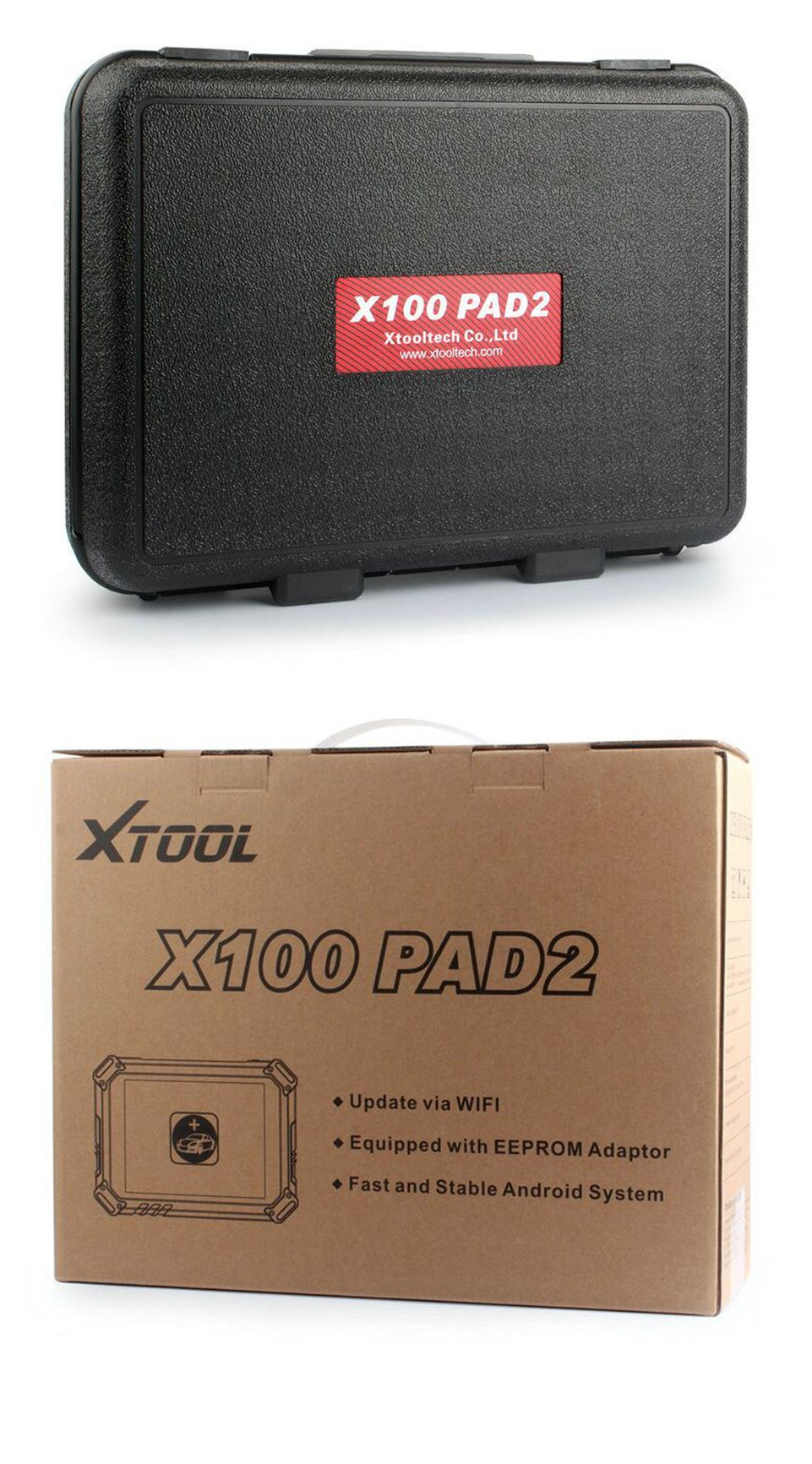 Original X100 PADII for XTOOL X100 PAD X100 pad 2 Better than X300 Pro3 Auto Key Programmer with Special Function Update Online