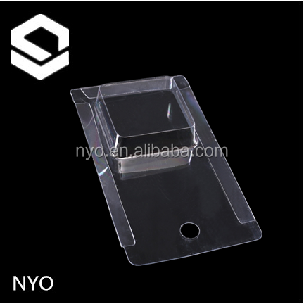 Sliding card blister packaging/PVC plastic container