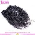 Alibaba Wholesale Clip Hair Extension Stock 100% Human Hair 8-28 Inch Clip On Hair Extensions Walmart Hair