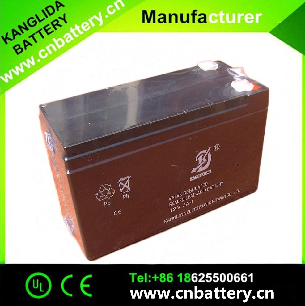 12v7ah storage lead acid battery, 7ah alarm UPS battery