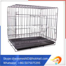 metal mesh outdoor decorating aviation dog cage manufacturer