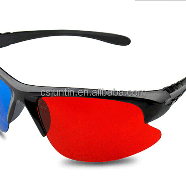 new design anaglyph 3d glasses JTDG029