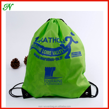 Wholesale children high quality cheap polyester drawstring bag
