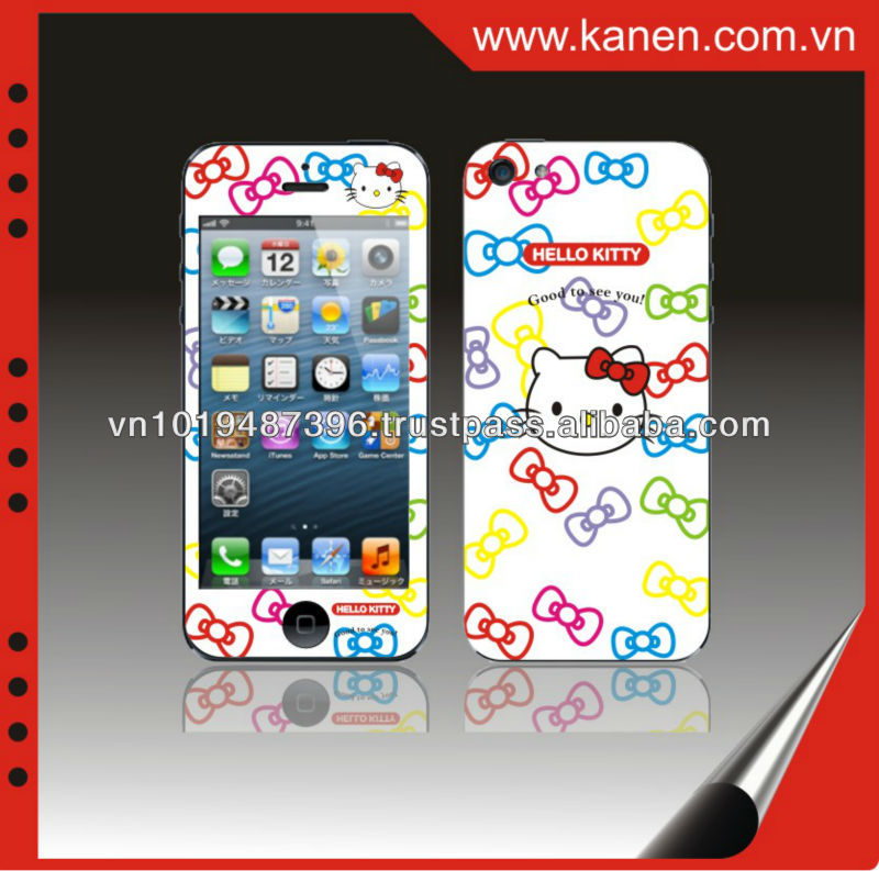 Hellokitty for sample case iphone 5 iphone phone stickers