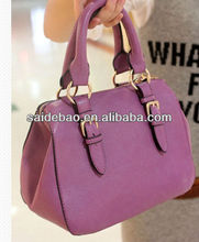 mew arrival fashion stylish pu leather women's handbag for party
