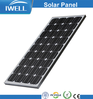 IWELL factory price 80W mono PV solar panels for power plant
