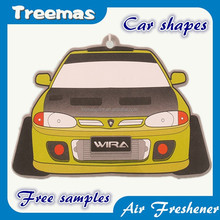 Promotional item car design paper air fresherner for car (XM)