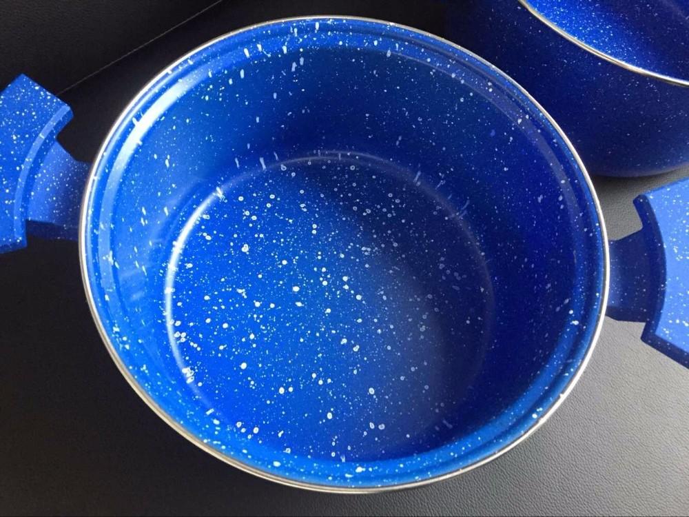 8pcs marble coating pan non stick pan bakelite handle