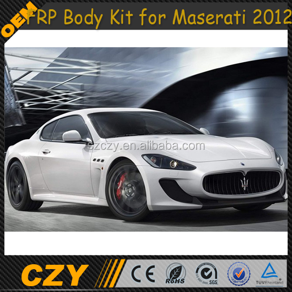 2012 FRP Full Body kit front bumper kit BodyKits for Maserati 2012