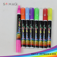 multi color marker pen-3 mm nib pen for writing on the glass