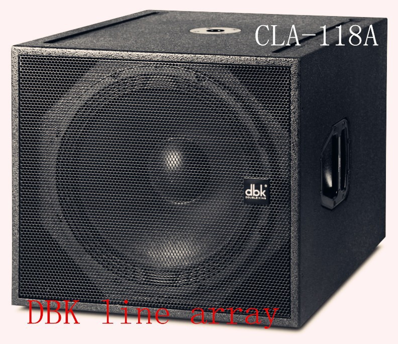 18 inch subwoofer speaker CLA-118A for audio/line array CLA-210