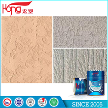 Easy to operate Green Scraping Type Texture Paint For Exterior Wall