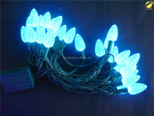 cute echinacea PVC string light garland lighting/outdoor waterfall light string drop for festival decoration