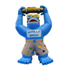 Inflatable Gorilla with Shorts, Sunglasses, inflatable advertisement K2058-1