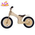 Wholesale cheap natural wooden girls bikes for training balance W16C058