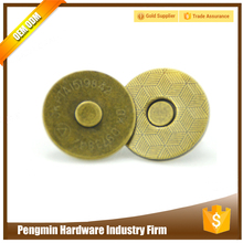 Factory price specific high end attach magnetic snaps