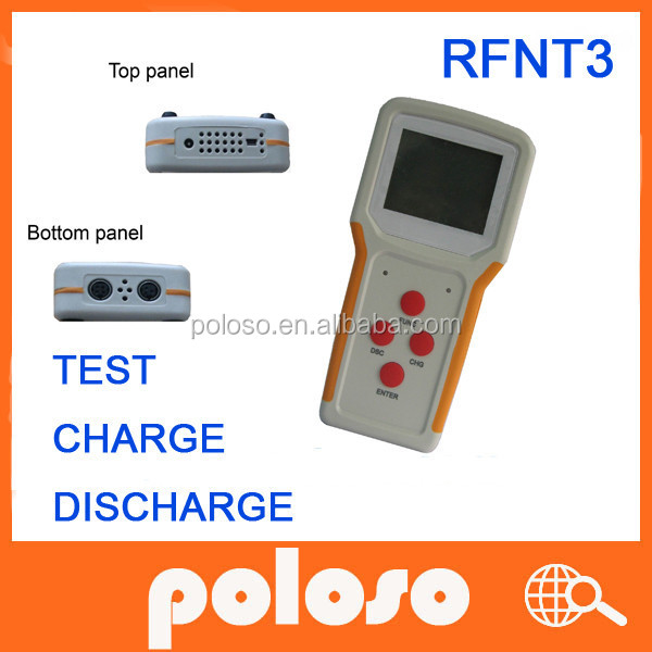 New convenient Laptop Battery Tester RFNT3, 110/220v battery charge/ discharge/ revise, English version
