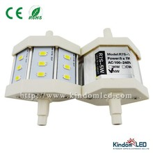 78mm R7s led Dimmable LED R7s 5w 12pcs SMD5730 Warm/Natural/Cold White