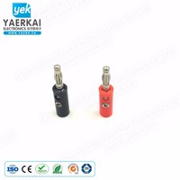 4mm Safety Metal Banana Plug Terminal