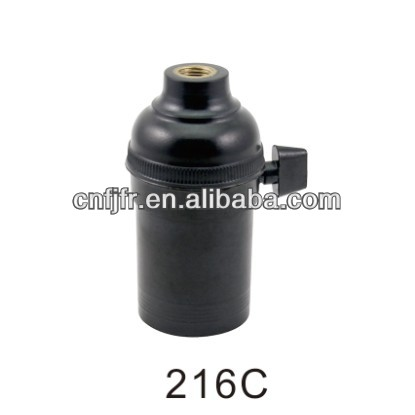 screw type e27 lamp cap
