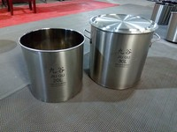 small size stainless steel vessel for medicine storage