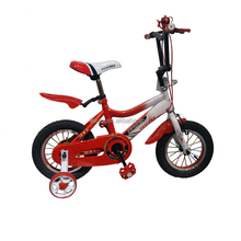 Cycling Safety For Children Age 20 Month To 4 Years Old Health Bicycle 4 wheel 12 inch steel fork kid's bike